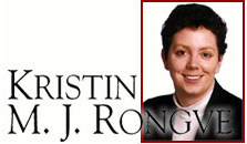 KRISTIN RONGVE, family law, debt collection, corporate litigation lawyer