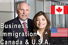 Immigration Lawyer Saba Naqvi,JD - practices both in California, USA and Vancouver Canada, is fluent in Hindi, Urdu and English - and Bruce Harwood,LLB practice business immigration and related immigration services - office in downtown Vancouver on Burrard St.