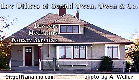 Photo of  Law Offices of Gerald Owen, in Nanaimo