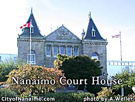 Nanaimo court house building